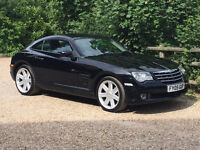 Chrysler Crossfire, black, very low mileage, stunning car