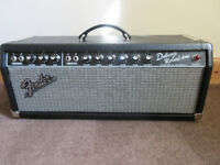 Fender Deluxe Reverb 65 Reissue Head mint condition