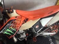 KTM 250 exc 2010 enduro bike