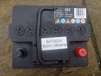 car 12v battery new