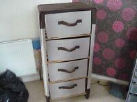 canvas drawer unit