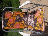 Aluminium Garden chair £3