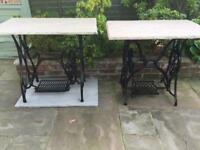 X2 Sewing Machine Tables