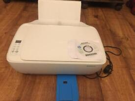 White HP all in one Printer and Scanner 3630