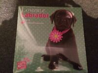 Lovable Labs - Labrador Retriever 2017 - 18-Monatskalender Myrna Huijing NEW