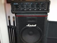 PA System, Marshall and Laney