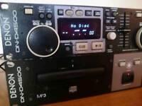 Denon DN-D4500 professional double CD player