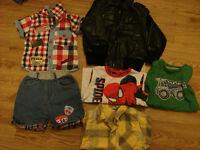 Bundle of boy's clothes 3-4 y.o. in excellent condition