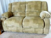 Two Seater Sofa in Loring Gold