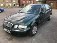Rover 45 Impression 2001 1.4 Petrol FSH 2 owners cheap runabout