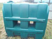 Slimline Oil Tank - 700mm x 1450mm x 1600mm