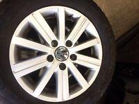 Volkswagen Golf mk6 Wheels