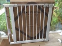 Safety 1st baby gate and extention