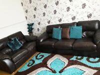 Sofa natural leather