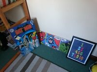 Boys room pictures / decor