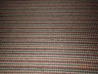 Sisal Rug, John Lewis, 240 x170 cm, rust stripe, rubber-backed, very good condition