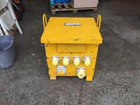 10 KVA SIX OUTLET 3 PHASE 415V TO 110V TRANSFORMER