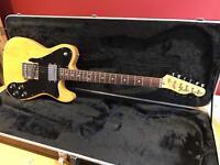 Fender custom telecaster 1976 may trade/part x Gibson ' fender
