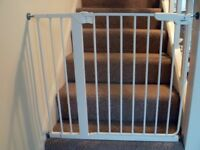 BabyDan Danamic Pressure Fit Gate (with extension pack)