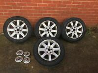 "Mk5 golf original 16"" alloys"