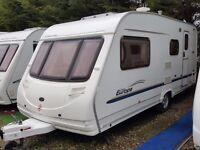 2005 Sterling Europa 520 4 Berth Side Dinette End Washroom Caravan
