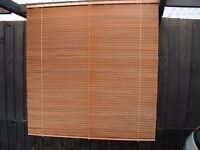 WOODEN VENETIAN BLINDS X 4