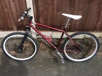 Genesis io ID single speed fixed gear fixie mountain bike specialized trek cube cannondale kona