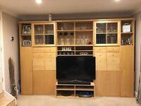 Large TV Wall Unit