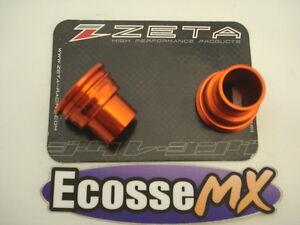 KTM-EXC125-200-250-300-ZETA-Trasero-Espaciador-de-rueda-NARANJA