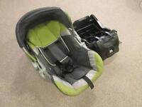 Rear Facing Car Seat and Car Seat Base