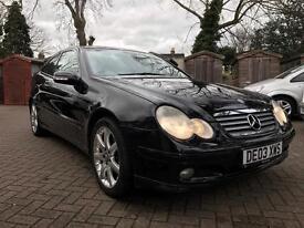 Mercedes C200K Coupe Automatic