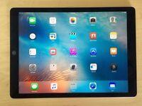 iPad Pro 128GB Space Grey 12.9 WiFi + LTE 4G Unlocked + Apple Warranty