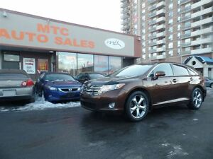 2010 Toyota Venza LOW MILEAGE, V6, AWD, LEATHER, GPS, BACKUP CAM