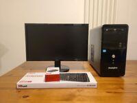 Desktop pc/4gb/500gb/Free delivery
