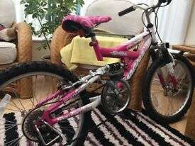 "Sparkler Girls bike 20"" used condition"