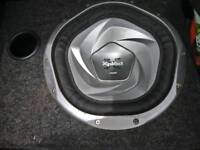 sony xplod subwoofer and edge amp