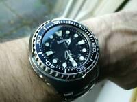 Seiko kinetic GMT watch