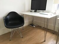 white office tables