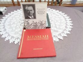 MESSIAH BY GEORGE FREDERIC HANDEL,vinyl record set