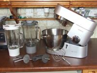 Kenwood Chef Titanium food processor mixer