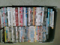 FOR SALE 40 DVDS MIX ONES