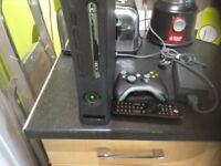 Xbox 360 with 120 GB hard drive and power pack 1 controller and remote control no other leads vgc