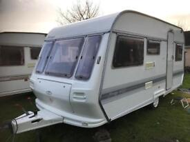 Caravan 4/5/6 berth Coachman Mirage 1996 lovely condition full awning available