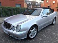 mercedes clk 320 v6 auto convertible 2000 amg alloys good condition