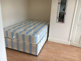 014R - SUDBURY HILL- DOUBLE STUDIO FLAT, SEPARATE KITCHEN, FURNISHED, BILLS INCLUDED - £185 WEEK