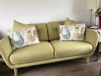 John Lewis sofa, new condition.