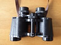 Telstar 8 x 30 binoculars with leather strap
