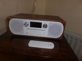 Pure Evoke C-D6 Stereo Radio/CDPlayer with bluetooth