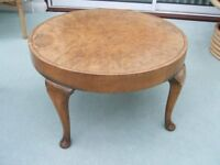 Circular vaneered Occasional Table