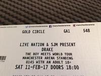 Drake Gold Circle Ticket